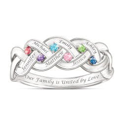 Together For Always Family Ring