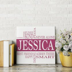 Name & Interests Canvas