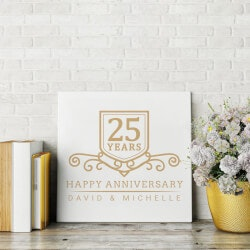 Wedding Anniversary Canvas