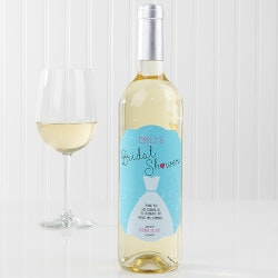 Personalized Gifts:Personalized Bridal Shower Wine Bottle..