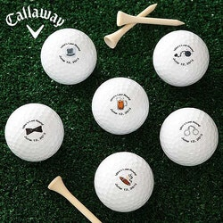 Grooms Last Round Personalized Wedding Golf..