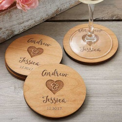 Personalized Gifts (Under $10):Rustic Wedding Party Favors - Personalized..