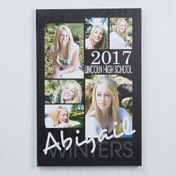 Personalized Graduation Portrait Canvas..