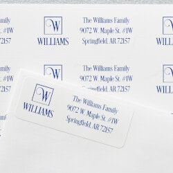 Personalized Gifts (Under $10):Square Monogram | Personalized Return..