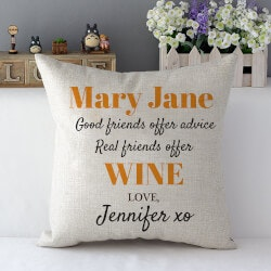 Birthday Gifts for Friends:Best Friends Get Wine