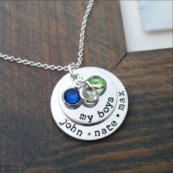 Birthstones Necklace