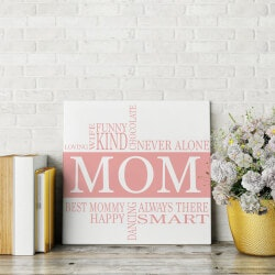 Gifts for Mom:Mom Interests Canvas