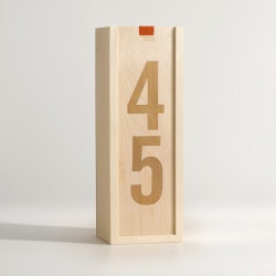 Retirement Gifts for Coworkers Under $100:Classic Digits - Wine Box