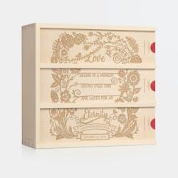 Eternal Love - Anniversary Wine Box