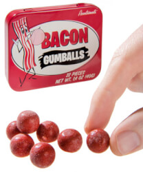 Bacon-Flavored Gumballs