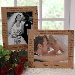 Love Is Patient 8x10 Personalized Wedding..