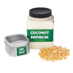 Organic Popcorn Kit
