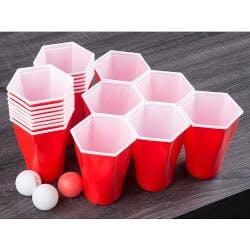 Hexcup: Hexagonal Beer Pong Game