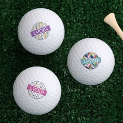 Personalized Gifts (Under $10):Personalized Golf Balls - Sassy Lady