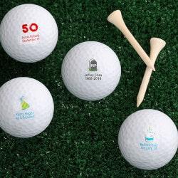 Personalized Golf Balls - Birthday Wishes