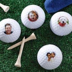 Personalized Photo Golf Balls