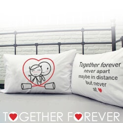 Gifts for Wife:Together Forever Pillowcases
