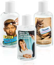 Dirty Hand Sanitizers