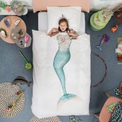 Mermaid Duvet And Pillowcase Set