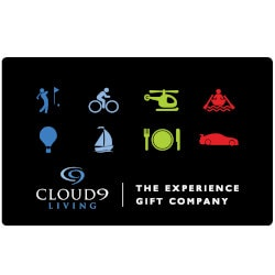 Unique 70th Birthday Gifts:Cloud 9 Living Experience Gift Certificate