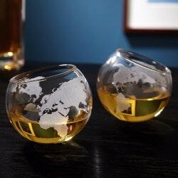 Boss's Day Gifts:Continental World Globe Rolling Rocks..