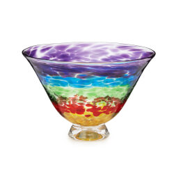 Rainbow Candy Dish Bowl