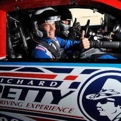 Unique 70th Birthday Gifts:Ride Shotgun In A Stock Car