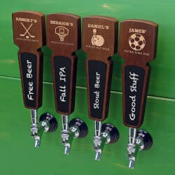 Sports Bar Custom Beer Tap Handle With..