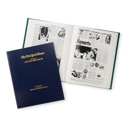 NYT Custom Basketball Book