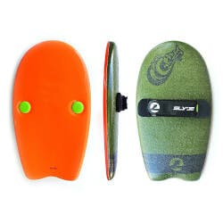 Slyde: Soft Top Handboard - Army Green And..