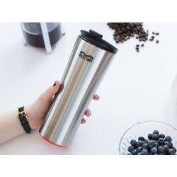 Tip-Proof Steel Travel Mug