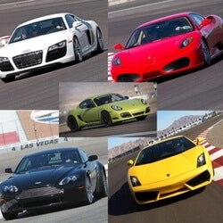 Experience Gifts:Exotic Car Driving Experiences