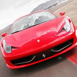 Experience Gifts (Over $200):Race A Ferrari