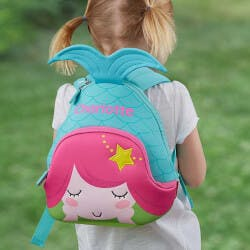 Personalized Toddler Backpack - Mermaid