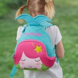 Personalized Gifts for 3 Year Old:Personalized Toddler Backpack - Mermaid