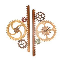 Garden Gears Outdoor Clock & Thermometer