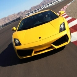 Unusual Birthday Gifts for Sister:Race A Lamborghini