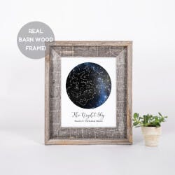 Custom Constellation Print In A Reclaimed..
