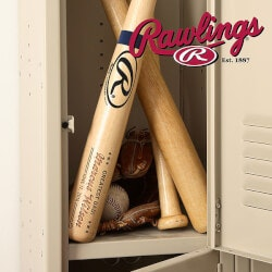 Baseball Birthday Gifts:Personalized Rawlings Baseball Bat - Father..