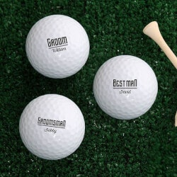 Personalized Gifts (Under $10):Personalized Golf Balls - Set Of 12 -..