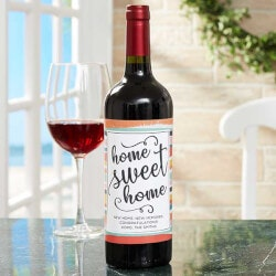 Personalized Gifts (Under $10):New Home Personalized Wine Bottle Labels