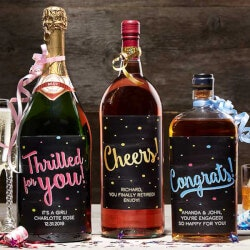 Personalized Gifts (Under $10):Personalized Liquor Bottle Labels -..