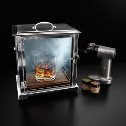 Gifts Over $200:The Smoke Box Deluxe Drink Smoker System