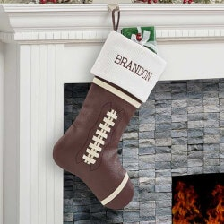 Personalized Gifts:Personalized Football Christmas Stockings