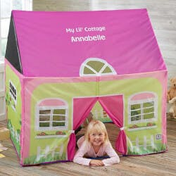 Personalized Kids Play Tent - My Lil Cottage