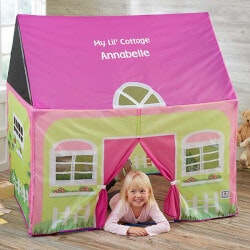 Personalized Gifts for 5 Year Old:Personalized Kids Play Tent - My Lil Cottage