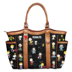 The PEANUTS Gang Womens Tote Bag With Comic..