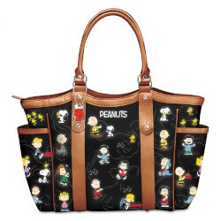Funny Gifts:The PEANUTS Gang Womens Tote Bag With Comic..