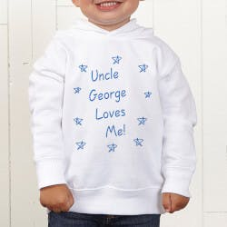Personalized Toddler Hooded Sweatshirt -..