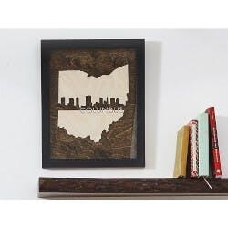 Framed Cityscape State Art
